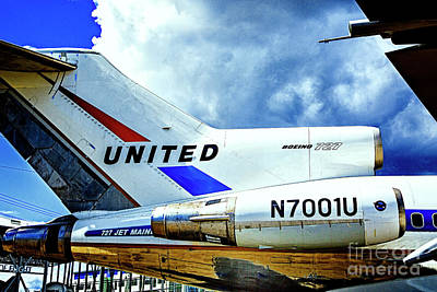 Photograph - Boeing 727 Engines by Rick Bragan