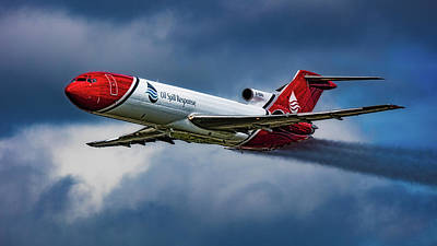 Photograph - Boeing 727-ss2f by Chris Lord