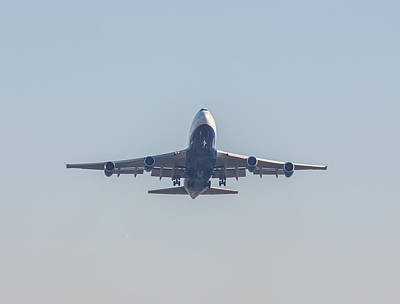 Photograph - Boeing 747-2 by Brian MacLean