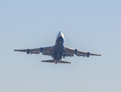 Photograph - Boeing 747-5 by Brian MacLean
