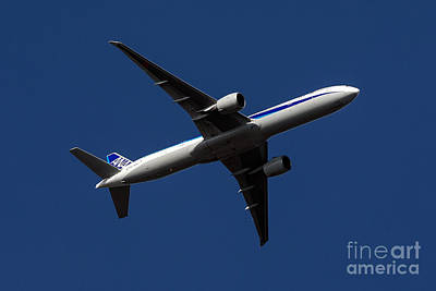 Outdoor Er Photograph - Boeing 777-381 Er Air Nippon Airways by Jason O Watson