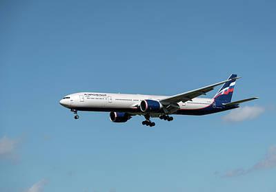 Pittsburgh According To Ron Magnes - Boeing 777 Aeroflot by Sergei Dolgov