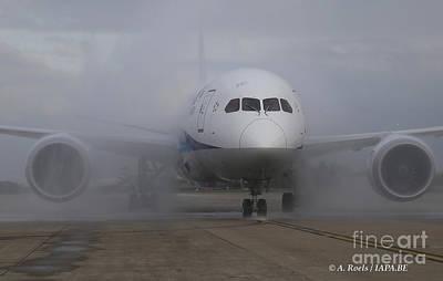 Photograph - Boeing 787 Dreamliner by Antoine Roels