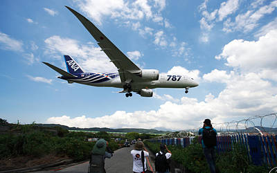 Airplane Digital Art - Boeing 787 Dreamliner by Maye Loeser