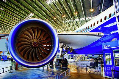 Photograph - Boeing 787 Exterior by Rick Bragan