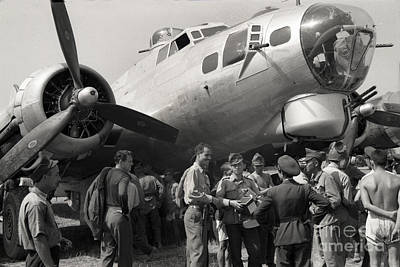Photograph - Boeing B-17g Flying Fortress 1944  by California Views Mr Pat Hathaway Archives