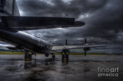 B29 Digital Art - Boeing B-29 Superfortress  by Nigel Bangert