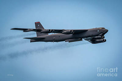 Photograph - Boeing B-52 Stratofortress Long Range Bomber by Rene Triay Photography