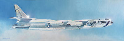Painting - Boeing B-52d Stratofortress  by Douglas Castleman