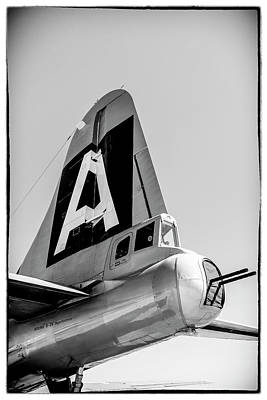 Photograph - Boeing B29 Superfortress Rudder by Chris Smith