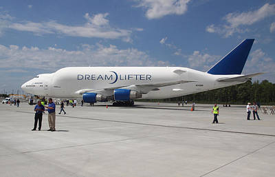 Photograph - Boeing Dreamlifter 1 by Joseph C Hinson Photography