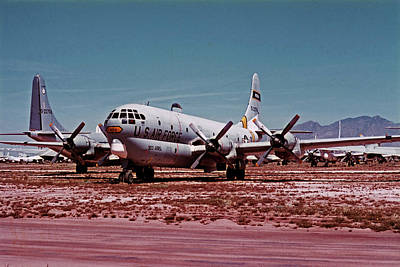 Photograph - Boeing Hc-97g Statofreighter 52-2714 At Masdc April 24 1972 by Brian Lockett