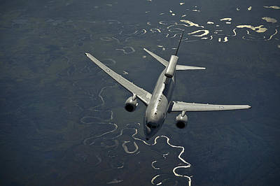 Airplane Digital Art - Boeing Kc-135 Stratotanker by Maye Loeser