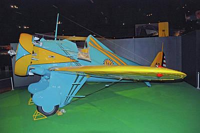 Photograph - Boeing P-26a Peashooter by John Schneider