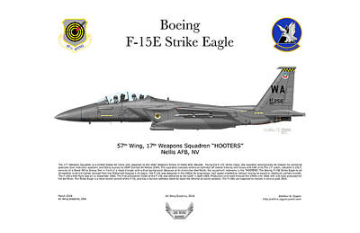 Photograph - Boeing Strike Eagle F-15e by Arthur Eggers