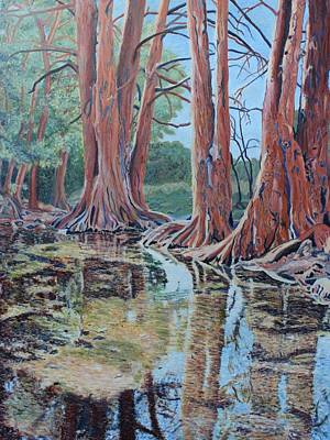 Painting - Boerne River Scene by Vera Smith