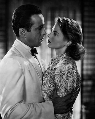 Casablanca Wall Art - Photograph - Bogart And Bergman Eternal by Daniel Hagerman