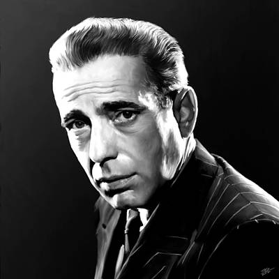 Humphrey Bogart Painting - Bogart by Paul Tagliamonte