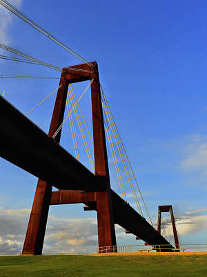 Photograph - Boggs - Hale Memorial Bridge by Laura Ragland