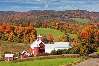 Photograph - Bogie Mountain Autumn by Alan L Graham