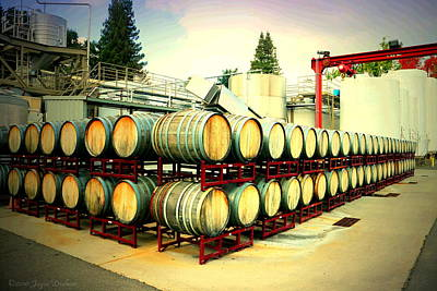 Photograph - Bogle Winery By The Barrel by Joyce Dickens