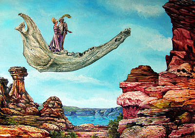 Painting - Bogomils Journey by Otto Rapp
