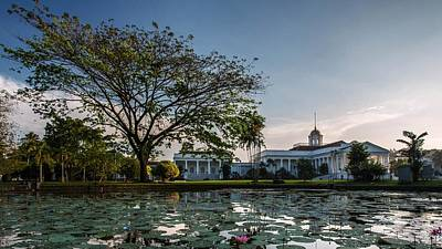 Landscapes Digital Art - Bogor Palace by Maye Loeser