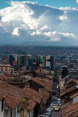 Photograph - Bogota Cityscape 1 by Steven Richman