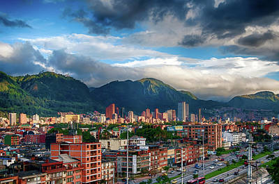 Photograph - Bogota by Maria Coulson