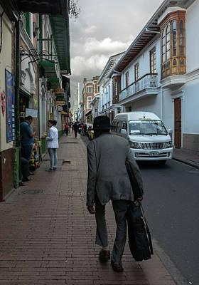 Photograph - Bogota Street Scene 4 by Steven Richman