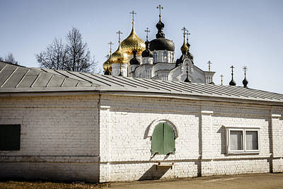 Architecture Photograph - Bogoyavlensky Monastery In Kostroma Russia by Alexey Stiop