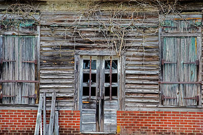 Photograph - Bohannon Shack by Jean Haynes