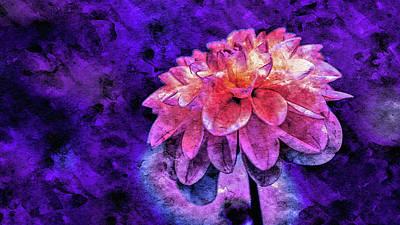 Mixed Media - Bohemian Bloom by Susan Maxwell Schmidt