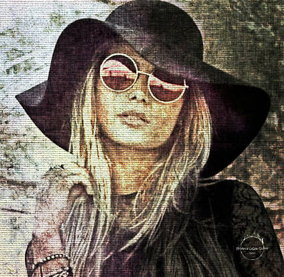 Digital Art - Bohemian Chic by Absinthe Art By Michelle LeAnn Scott