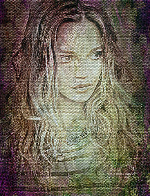 Digital Art - Bohemian Daydream by Absinthe Art By Michelle LeAnn Scott