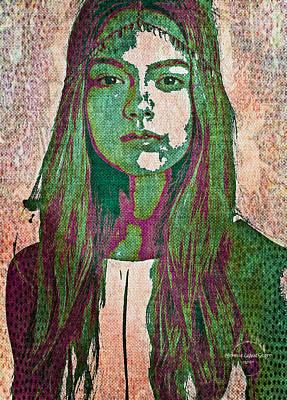 Digital Art - Bohemian Goddess by Absinthe Art By Michelle LeAnn Scott