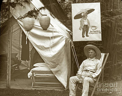 Photograph -  Bohemian Grove, August 1902 by California Views Archives Mr Pat Hathaway Archives
