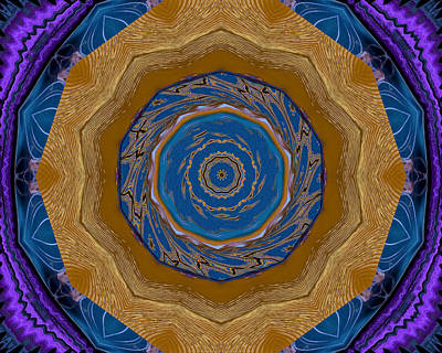 Jodi Diliberto Royalty-Free and Rights-Managed Images - Bohemian Kaleidoscope by Jodi DiLiberto