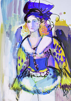 Painting - Bohemian Moods by Amara Dacer