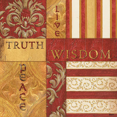 Truth Painting - Bohemian Red Spice 2 by Debbie DeWitt