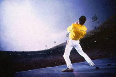 Bohemian Rhapsody Art Print by Vincent Monozlay