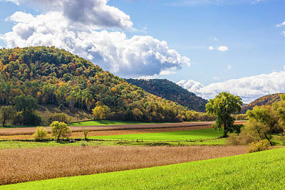 Photograph - Bohemian Valley, Autumn by Mark Mille