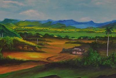 Painting - Bohio by Jorge Parellada