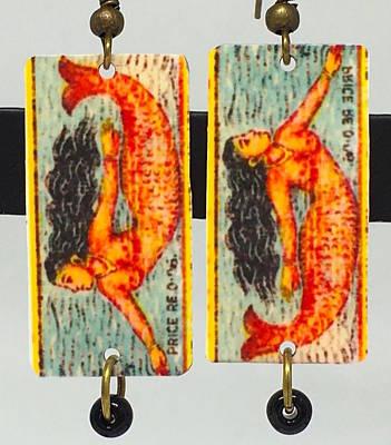 Boho Mermaid Art Print