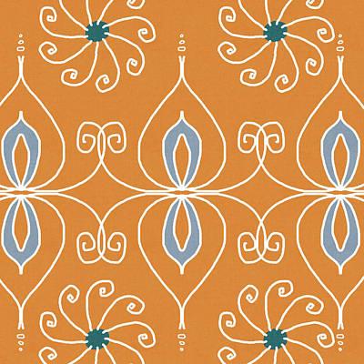 Motif Digital Art - Boho Ornamental 1- Art By Linda Woods by Linda Woods