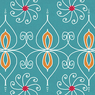 Motif Digital Art - Boho Ornamental 3- Art By Linda Woods by Linda Woods