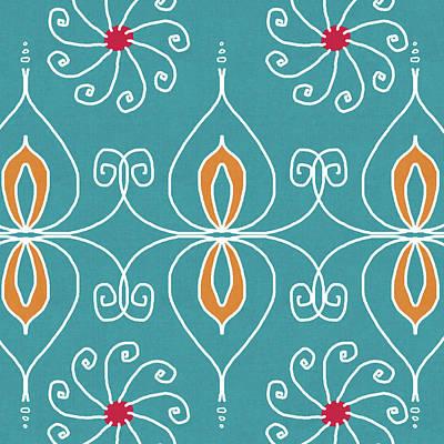 Motifs Digital Art - Boho Ornamental 3- Art By Linda Woods by Linda Woods