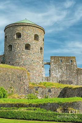 Photograph - Bohus Fortress In Sweden by Antony McAulay
