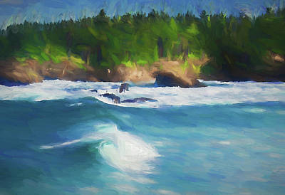 Boiler Bay Blues Art Print