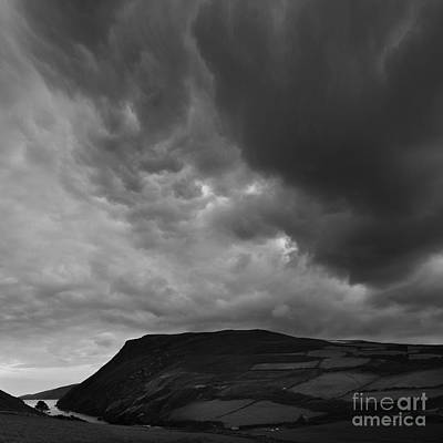 Photograph - Boiling Clouds Over Fleshwick by Paul Davenport